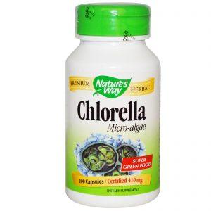 Nature's Way, Chlorella, Micro-Algae, 410 mg, 100 Capsules