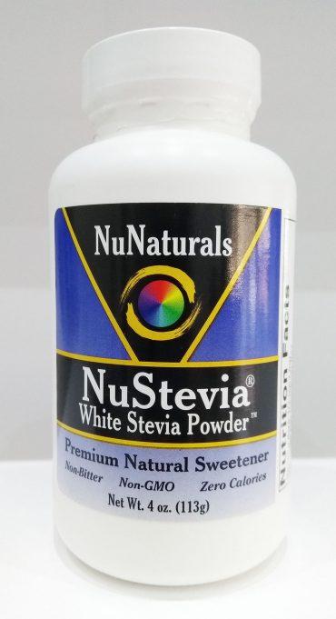 NuNaturals, NuStevia, White Stevia Pure Extract, 4 oz (113 g)