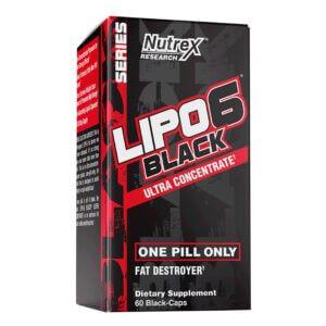Nutrex, Lipo 6 Black Ultra Concentrate, 60 Black-Caps