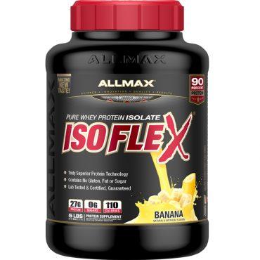Allmax, IsoFLEX, Whey Protein Isolate, 5 lb (2.3 kg)