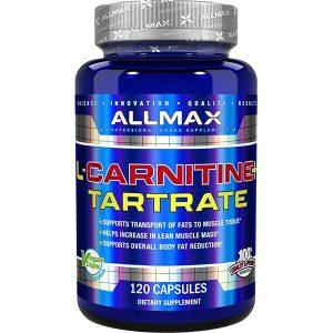ALLMAX, L-Carnitine Tartrate, 120 Capsules
