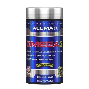 ALLMAX, Omega 3, 180 Softgels