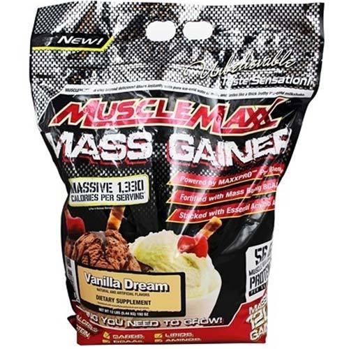 Musclemaxx Mass Gainer 12 Lbs 5 5 Kg Zone Nutrition