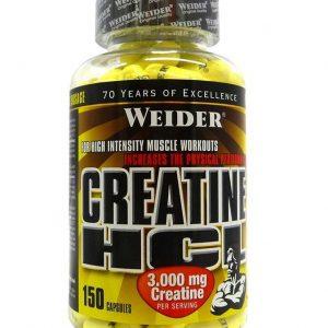 Weider, Creatine HCL, 150 Capsules