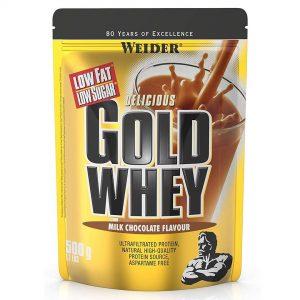 Weider, Gold Whey, 500 g - Chocolate