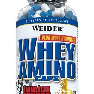 Weider, Whey Aminos, 280 Capsules