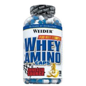 Weider, Whey Amino, 280 Capsules