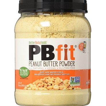 Better Body Foods, PBfit, Peanut Butter Powder, 850 g