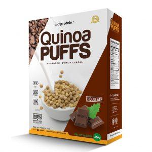 iEatProtein, Quinoa Puffs, Hi-Protein Cereal