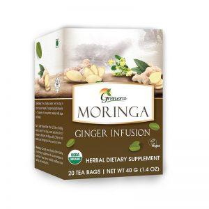 Grenera, Moringa Ginger Infusion, 20 Tea Bags