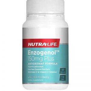 Nutra Life, Enzogenol 150mg Plus, 50 Capsules