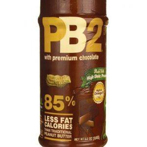 ell Plantation, PB2 Powdered Peanut Butter with Premium Chocolate, 184 g