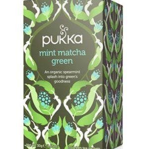 Pukka, Mint Matcha Green Tea, 20 Teabags