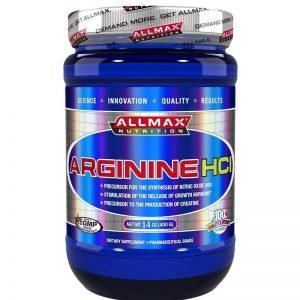 ALLMAX, Arginine HCl, 400 g (80 srv)