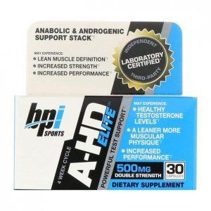 BPI Sports, A-HD Elite, 500 mg, 30 Capsules
