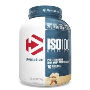Dymatize, ISO100 Hydrolyzed, 100% Whey Protein Isolate, 5 lbs (2.3 kg)