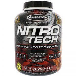 Muscletech, Nitro Tech, 4lbs (1.8 kg)