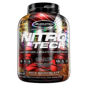 Muscletech, Nitro Tech, 5lbs, New Bonus Size