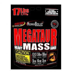 HumaBolic, MEGATAUR, Heavy Mass Gainer, 17LBS (7.7Kg)