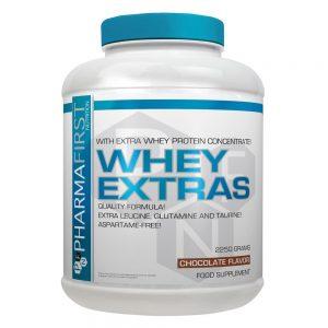 PharmaFirst, Whey Extras, 5lb