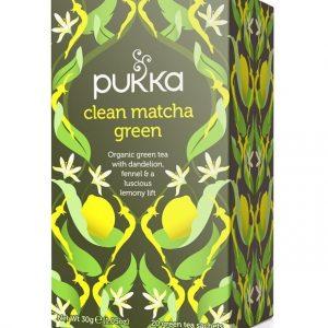 Pukka, Clean Matcha Green Tea, 20 Teabags
