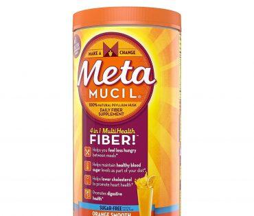 Metamucil, 4 in 1 MultiHealth Fiber Powder, 1.7 Lbs