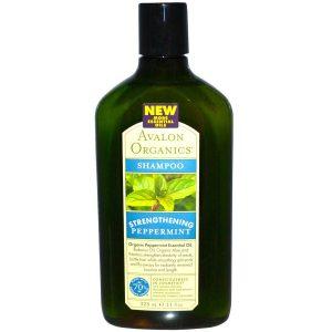 Avalon Organics, Strengthening Peppermint Shampoo