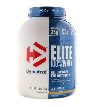 Dymatize, Elite 100% Whey Protein, 5 lbs (2.3 kg)