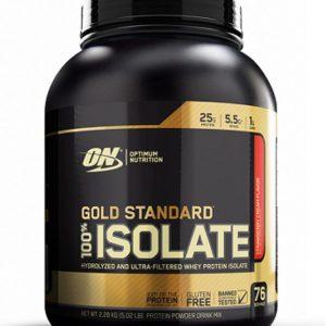 Optimum Nutrition, Gold Standard 100% Isolate, 5 Lbs (76 Srv)