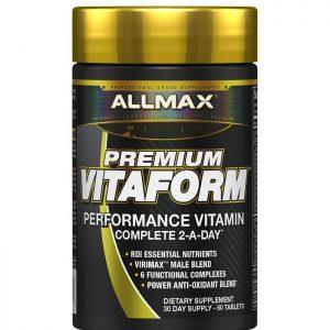 ALLMAX, Vitaform, Premium MultiVitamin For Men, 60 Tablets