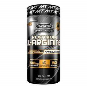 Muscletech, Platinum 100% L-Arginine (100 caplets)