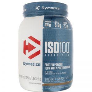 Dymatize, ISO100 Hydrolyzed, 100% Whey Protein Isolate, 1.6 lbs