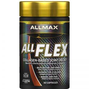 ALLMAX, AllFlex, Collagen-Based Joint Relief, UC-II Collagen, 60 Capsules