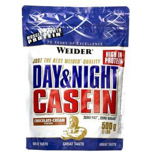 Weider, Day & Night Casein, 500g