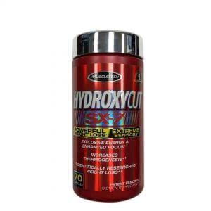 MuscleTech, Hydroxycut SX-7, Powerful Weight Loss