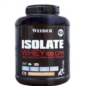 Weider, Isolate Whey 100 CFM, 2 Kg (66 Srv)