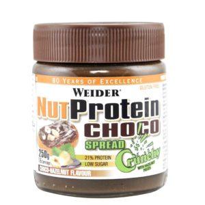 Weider, Nut Protein Choco Spread - Crunchy, 250 g