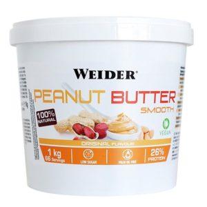Weider, Peanut Butter Smooth, 1 kg