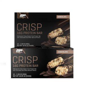 MusclePharm, CRISP Protein Bar, 45g (12/Box)
