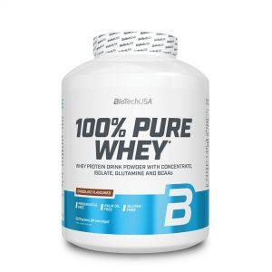 BioTech USA, 100% Pure Whey, 2270g (81 Srv)
