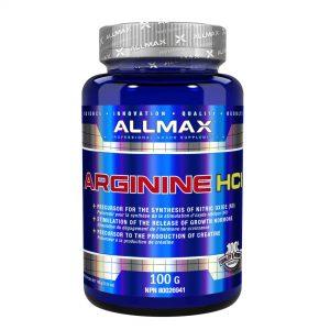 ALLMAX, Arginine HCl, 100 g