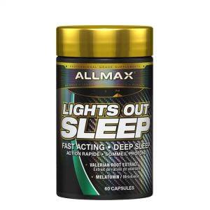 ALLMAX, Lights Out Sleep, 60 Caps