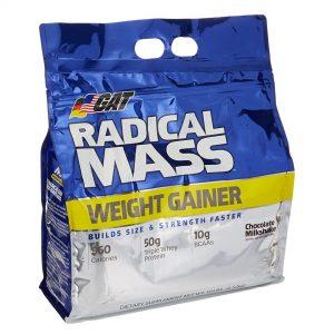 GAT Sport, Radical Mass Weight Gainer, 10 LBS (4.5 kg)