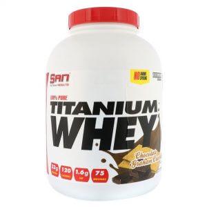 SAN, 100% Pure Titanium Whey, 5 Lb (75 Srv)