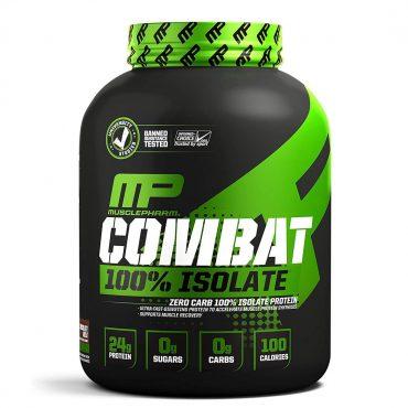 MusclePharm, Combat 100% Isolate, 5LB (81 Srv)