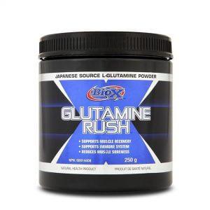 BioX, Glutamine Rush, 250g (50 Servings)