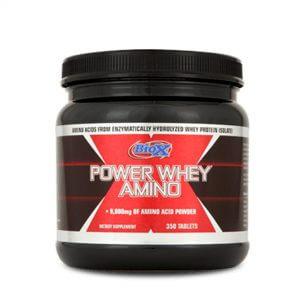 BioX, Power Whey Amino, 350 Tablets