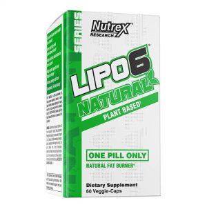 Nutrex Research Labs, Lipo 6 Natural Fat Burner, 60 Veggie-Caps