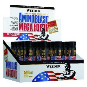 Weider, Amino Blast Mega Forte, 500ML (20 Vials of 25ml)
