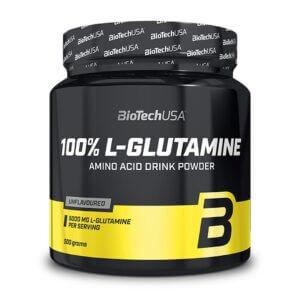 BioTech USA, 100% L-Glutamine Powder